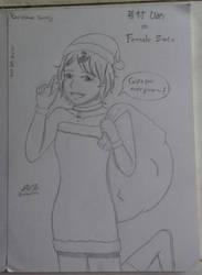 OC - Hime Wakamura - Christmas Special by SeikoHime