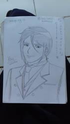 Fanart - Kuroshitsuji (Black Butler) - Sebastian by SeikoHime