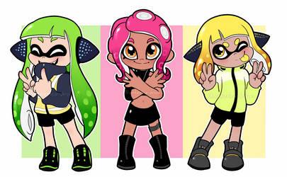 The Girls! by Amberlea-draws
