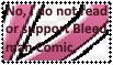 I dislike Bleedman Comic Stamp by ShugoandRigel
