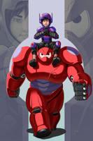 Big Hero Buddies by Tattletale616