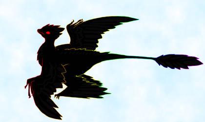Microraptor by sapphirekitty777