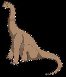 Brachiosaurus by sapphirekitty777