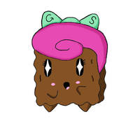 Sickiningly cute brownie by negativesanchez98