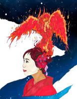 Goddess Geisha of the Sun by Kyramoonunique