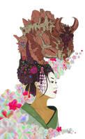Ko-no-Hana: Goddess Geisha of Earthly Life by Kyramoonunique