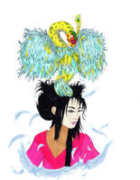 Kamikaze: Geisha Goddess of Air by Kyramoonunique