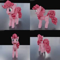 Pinkie Pie Update by beetdabrat
