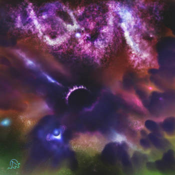 Cosmos by longhairedartist