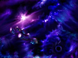 Space! by longhairedartist