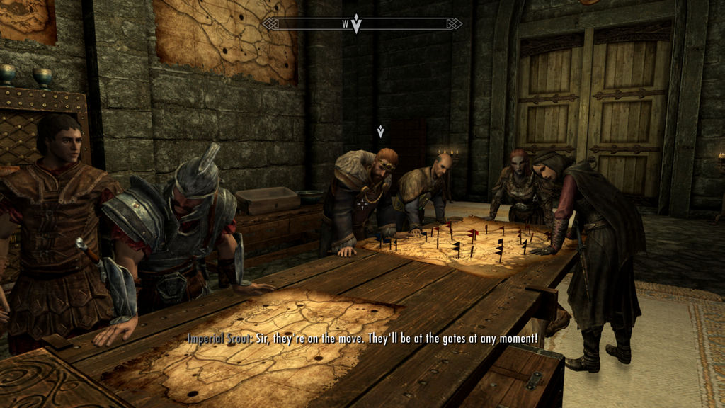 Skyrim The Battle For Whiterun Is About To Begin By