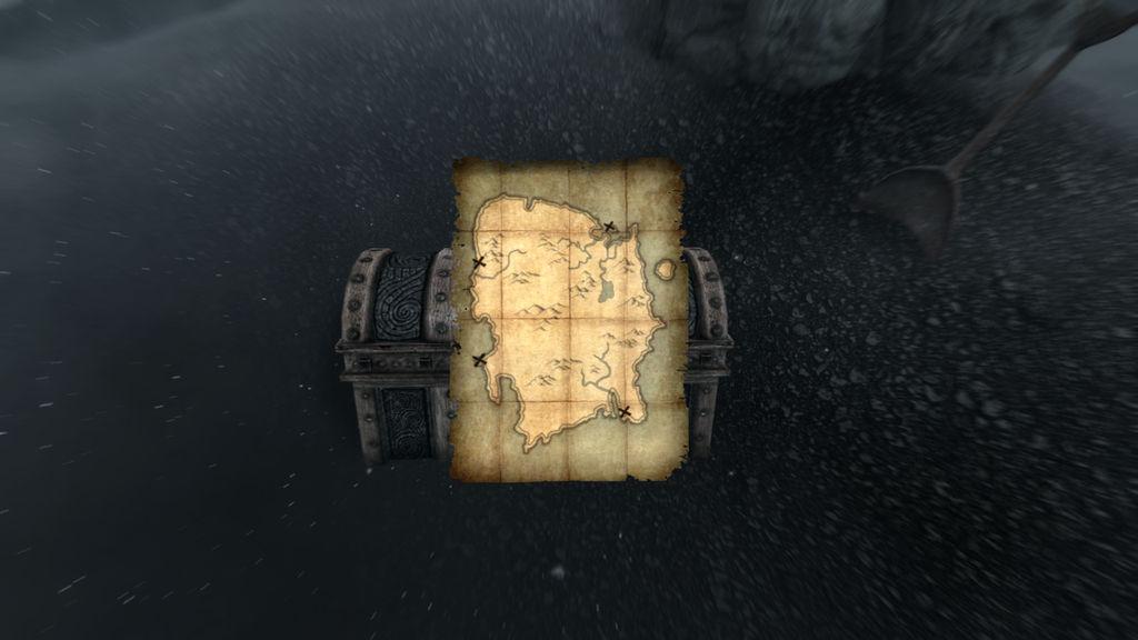 Skyrim Deathbrand Treasure Map By Spartan22294 On Deviantart