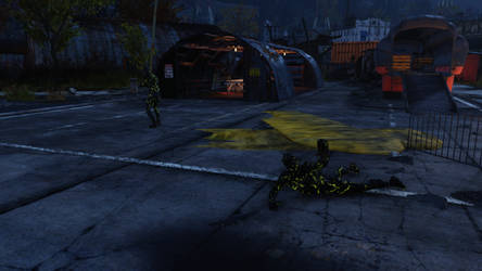 Fallout 76 Petrified corpses by SPARTAN22294
