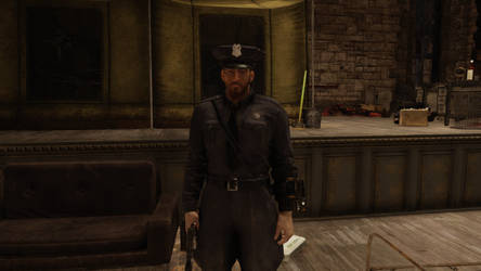 Fallout 76 Police Uniform by SPARTAN22294