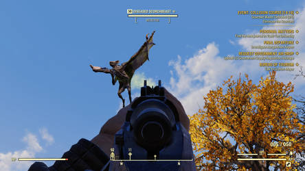 Fallout 76 A Disease Scorchbeast by SPARTAN22294
