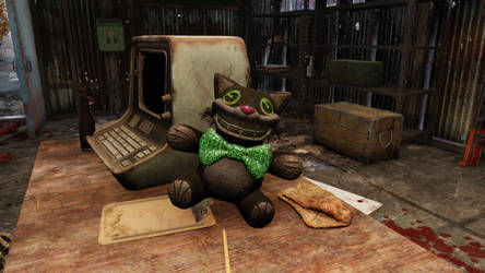 Fallout 76 Spooky Time Mr. Fuzzy by SPARTAN22294