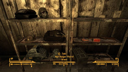 Fallout NV NCR Ranger Safehouse items by SPARTAN22294
