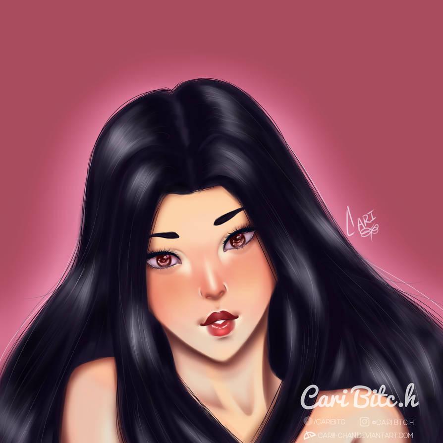 OC Bust by Cariii-Chan