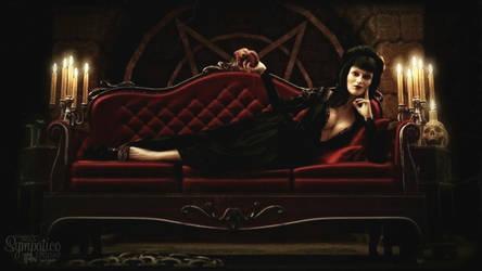 Horror Hostess by Saidge42