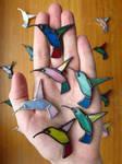 Handful of Birds by Morinoska