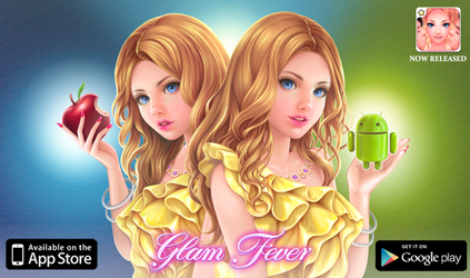 Apple and Android Glam Fever by HlYA