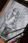 Pencil Commission 3 by HlYA