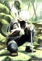 Young kakashi by airasan