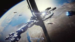 Halo 2 : Anniversary - Cairo Station by HaloMika
