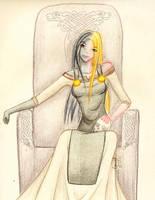 Norse Goddess Hel by OkuniSensei