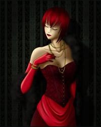 Kuroshitsuji - Madam Red by OkuniSensei