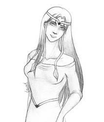 Sketch 09 - OC Character by OkuniSensei