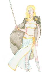 Norse Goddess Freya 02 by OkuniSensei