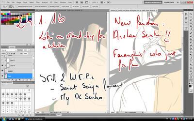 My Work In Progress by OkuniSensei