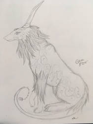 Alpha Gem Wolf/Fox by Swiftsunset01
