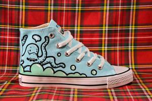 Octopus Converse by OctoflyArt