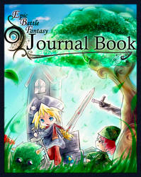 EBF journal book front cover by PtolemaiosLS