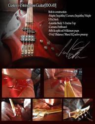 4 String Bass guitar [BXX-00] by PtolemaiosLS