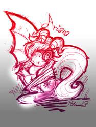 Ariana sketch by PtolemaiosLS