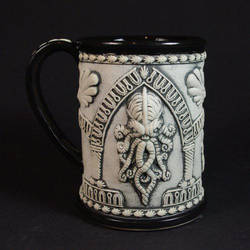 Cthulhu 'Cathedral' - Limited Edition Beer Stein by TheTrespasser