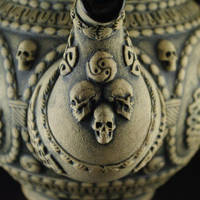 Gothic Tea-pot (detail) by TheTrespasser