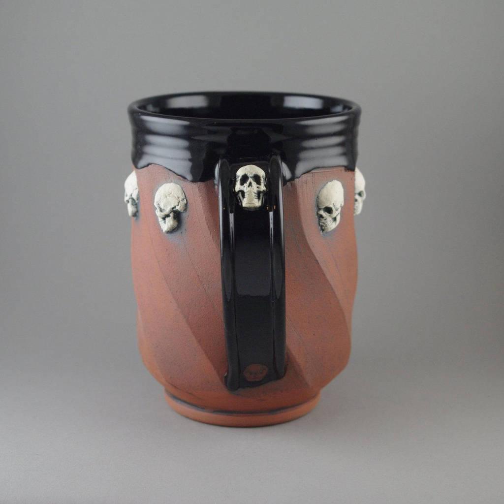 White Skull Beer Mug by TheTrespasser