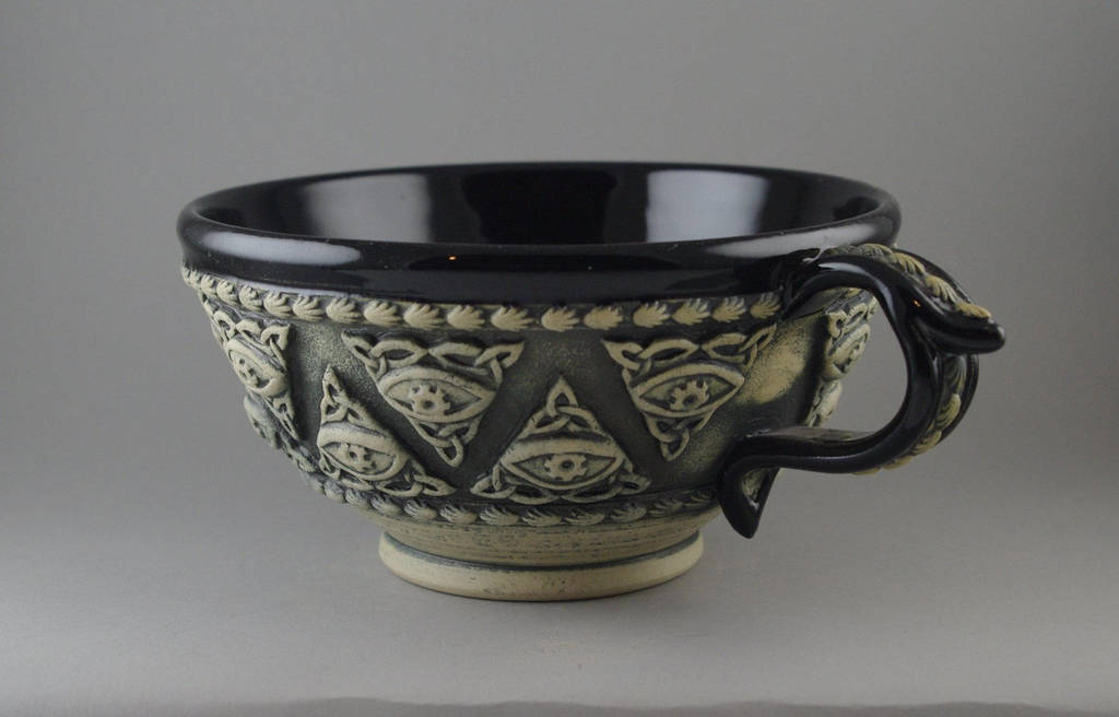 All-Seeing Eye Tea Cup by TheTrespasser