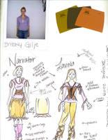 costume design by dkbg