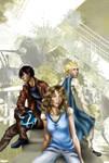 ShieldCross: cover art by extriandreamer