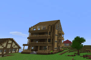 Minecraft house by Markecgrad