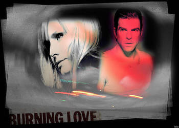 Burning love by LaLaShivers