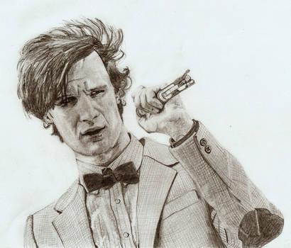 Eleventh Doctor - Matt Smith by The-Ribboned-One