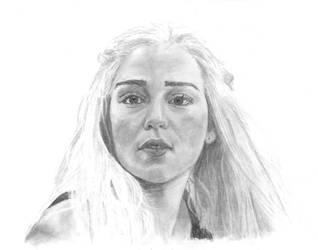 Daenerys Targaryen by The-Ribboned-One