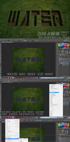 grass text effect tut by DistrictAliens