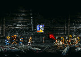 Metal Slug x Resident Evil by dollarcube